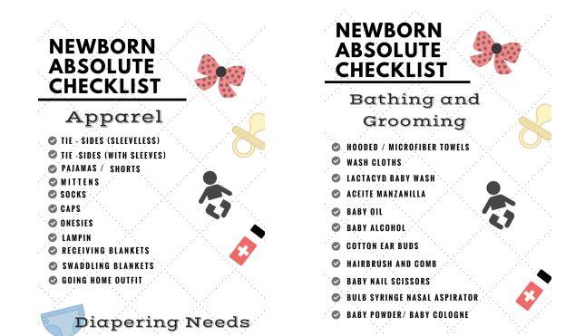 newborn-absolute-checklist