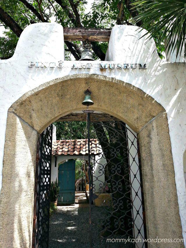 pinto museum entrance